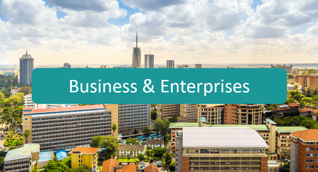 Business and enterprises botton